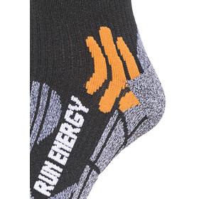 X-Socks Run Energizer Long juoksusukat , musta
